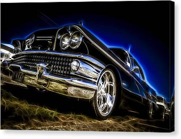 1958 Buick Century Canvas Print by motography aka Phil Clark