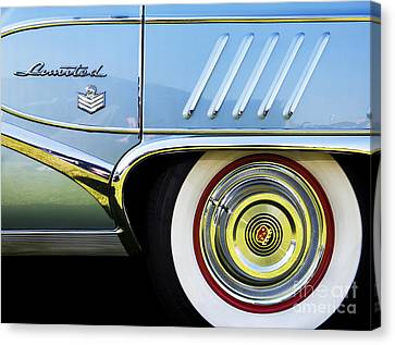 1958 Buick Limited Canvas Print by Tim Gainey
