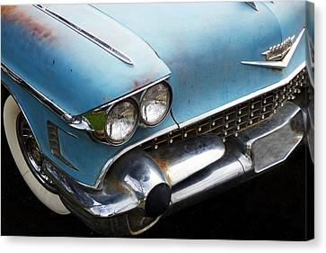 1958 Cadillac Sedan Deville Canvas Print by Pamela Patch