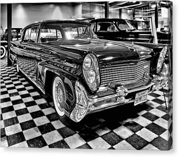 1958 Lincoln Continental Mk IIi Canvas Print by Michael Gordon