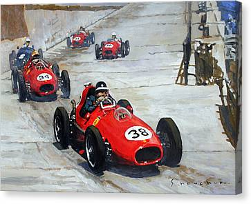 1958 Monaco Gp  Canvas Print