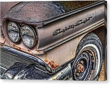 1958 Oldsmobile 88 Canvas Print by Ken Smith