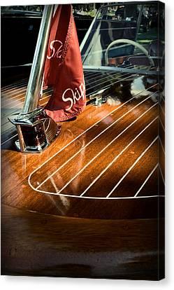 1958 Skipper Craft Hull Canvas Print