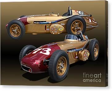 1958 Watson Mc Namara Spl Indy Roadster  Canvas Print by Tad Gage