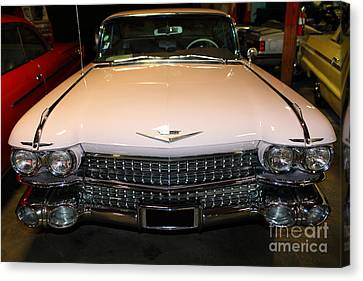 1959 Cadillac 5d25628 Canvas Print by Wingsdomain Art and Photography