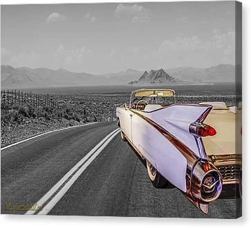 1959 Cadillac Eldorado Convertible Canvas Print