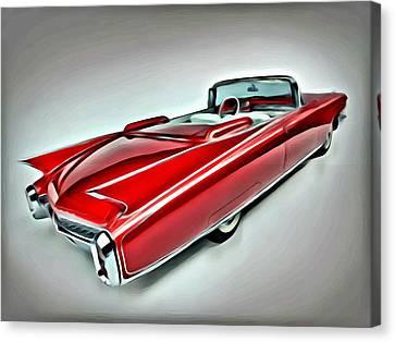 1959 Cadillac Eldorado Canvas Print