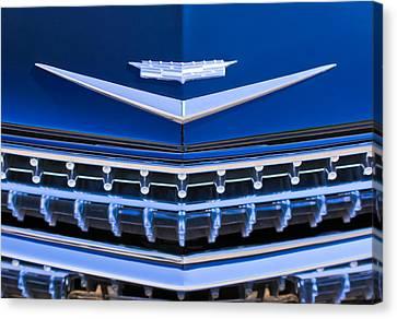 1959 Cadillac Eldorado Hood Ornament Canvas Print by Jill Reger