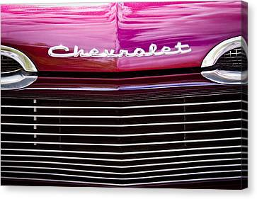 1959 Chevy Biscayne Canvas Print by David Patterson