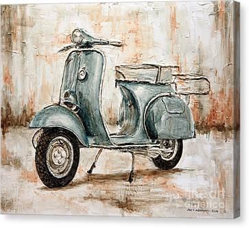 1959 Douglas Vespa Canvas Print