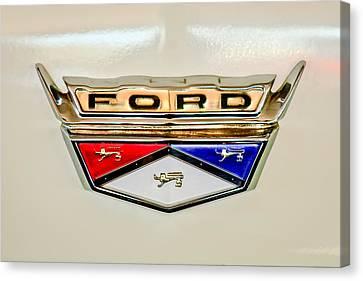 1959 Ford Ranchero Emblem -1095c Canvas Print
