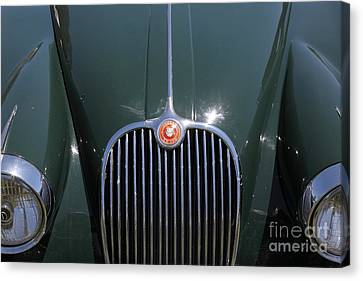 1959 Jaguar Xk150 Dhc 5d23301 Canvas Print by Wingsdomain Art and Photography