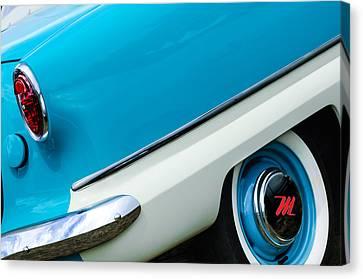 1959 Nash Metropolitan Wheel - Taillight Canvas Print by Jill Reger