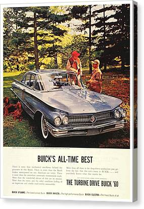 1960 - Buick Lesabre Sedan Advertisement - Color Canvas Print