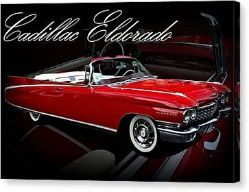 1960 Cadillac Convertible El Dorado  Canvas Print by Tim McCullough