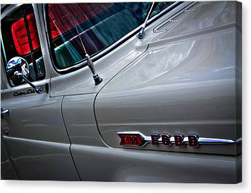 Custom Ford Canvas Print - 1960 Ford F100 Styleside Custom Cab Pickup by David Patterson