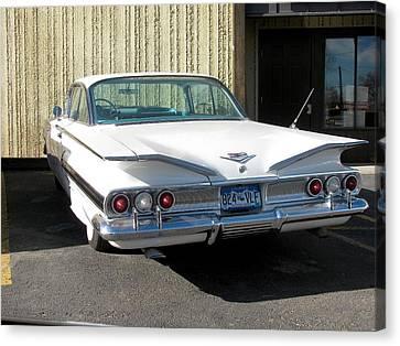 1960 Impala Canvas Print by Steven Parker