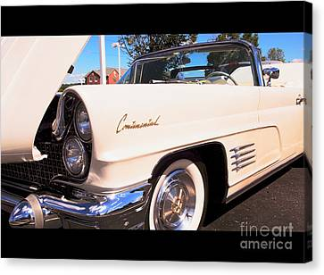 1960 Lincoln Continental Convertible Canvas Print