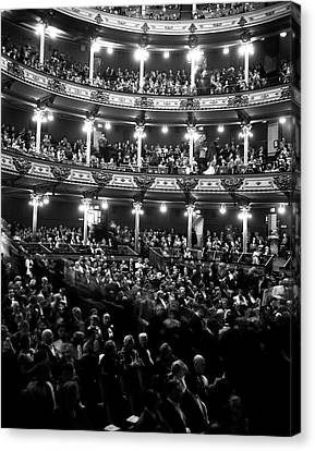 Romance Renaissance Canvas Print - 1960s Audience In Seats And Balconies by Vintage Images