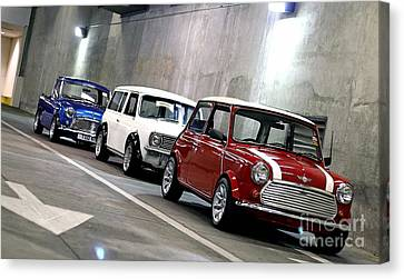 1960s Mini Cooper Canvas Print