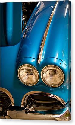 1961 Chevrolet Corvette IIi Canvas Print by David Patterson