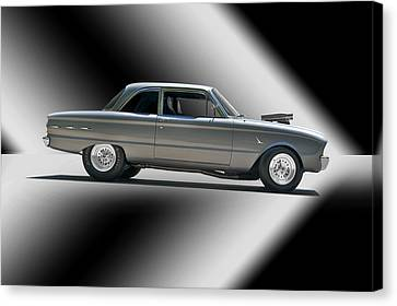 1961 Ford 'normally Aspirated' Falcon Canvas Print by Dave Koontz