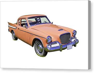 1961 Studebaker Hawk Coupe Canvas Print