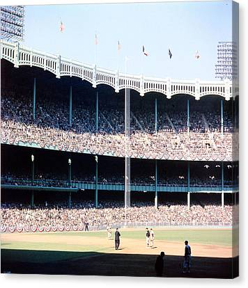 Mlb Canvas Print - 1961 World Series by Retro Images Archive