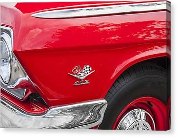 1962 Chevy Impala 409 Canvas Print
