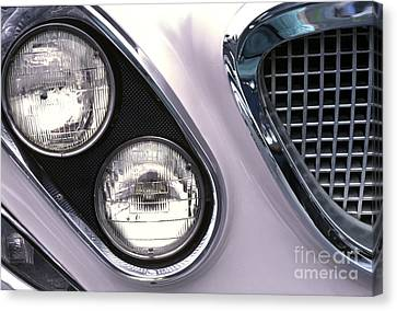 1962 Chrysler Newport Front End Canvas Print by Anna Lisa Yoder