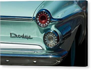 1962 Dodge Dart Taillight Canvas Print by Jill Reger