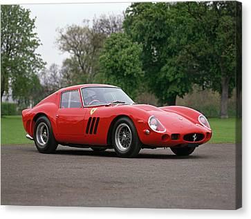 1962 Ferrari 250 Gto Scaglietti Canvas Print by Panoramic Images