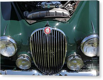 1962 Jaguar Mark II 5d23327 Canvas Print by Wingsdomain Art and Photography