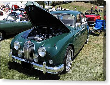 1962 Jaguar Mark II 5d23332 Canvas Print by Wingsdomain Art and Photography