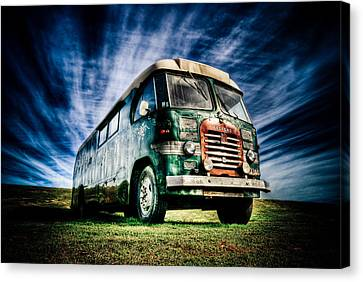 1963 Bedford Motorhome Canvas Print by Phil 'motography' Clark
