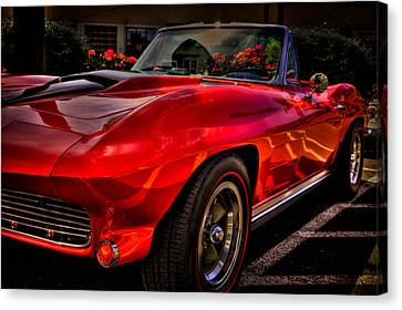 1963 Chevy Corvette Canvas Print