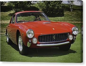 1963 Ferrari 250 Gt Lusso Canvas Print by Sebastian Musial
