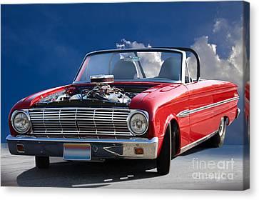 1963 Ford Falcon Futura Convertible Canvas Print by Dave Koontz