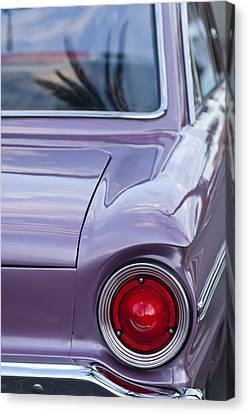1963 Ford Falcon Tail Light Canvas Print