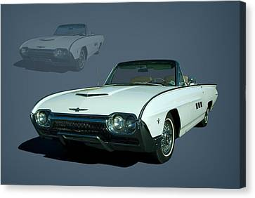 1963 Ford Thunderbird Convertible Canvas Print by Tim McCullough