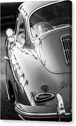 1963 Porsche 356b S Coupe Taillight -1241bw Canvas Print