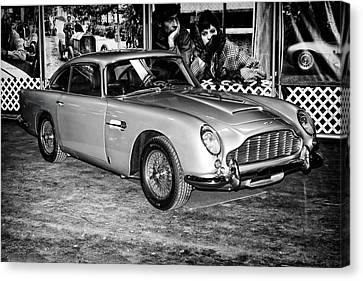 1964 Aston Martin Db5 Canvas Print by Boris Mordukhayev