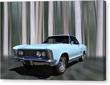1964 Buick Riviera Canvas Print by Keith Hawley