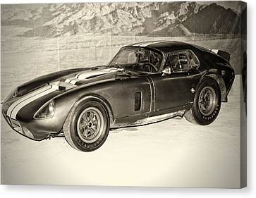 1964 Cobra Daytona Coupe Canvas Print by Boris Mordukhayev