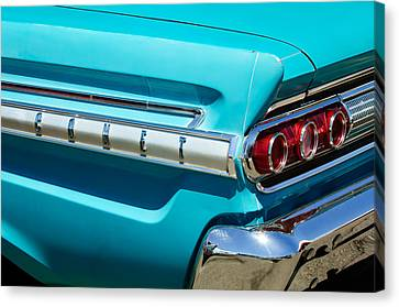 1964 Mercury Comet Taillight Emblem Canvas Print by Jill Reger