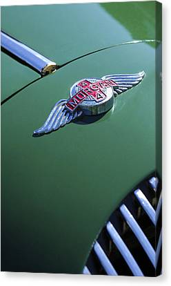 1964 Morgan 44 Hood Ornament Canvas Print by Jill Reger