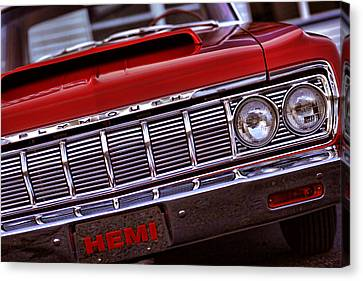 1964 Plymouth Savoy Canvas Print by Gordon Dean II