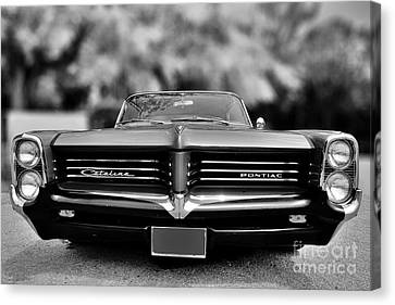 Car Canvas Print - 1964 Pontiac Catalina Gto by George Atsametakis