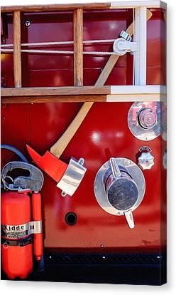 Truck Canvas Print - 1965 American Lafrance Fire Truck  by Jill Reger