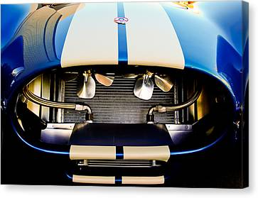 Shelby Cobra Canvas Print - 1965 Shelby Cobra Grille by Jill Reger